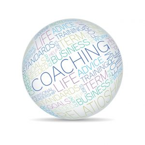 Coaching words in a sphere